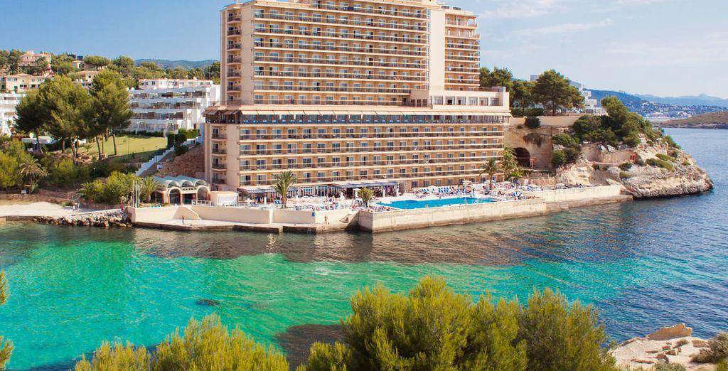 Ce bel hôtel vous accueille pour un séjour agréable et salvateur