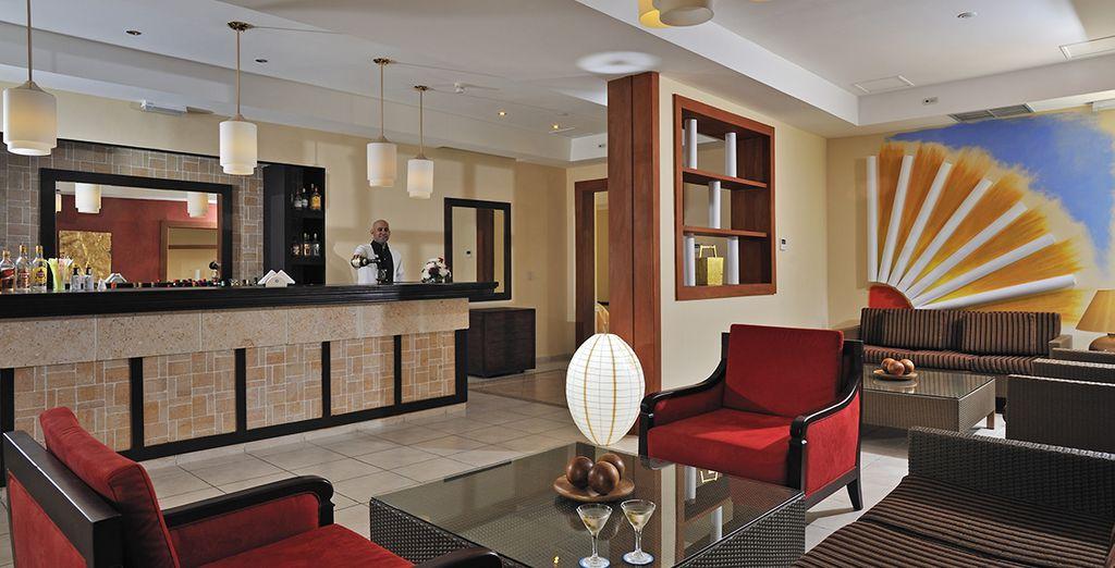 Un hôtel aussi élégant que confortable...