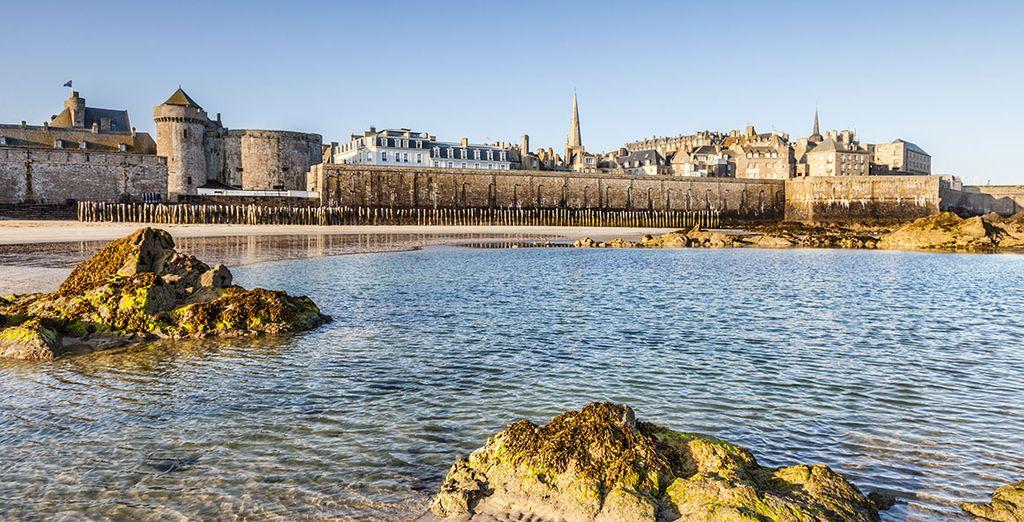 Partez à la découverte de la Bretagne ! - Résidence Domaine de l'Emeraude Saint Malo