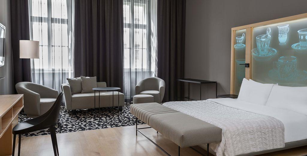Dans lequel vous attend une sublime chambre Executive, spacieuse et agréable