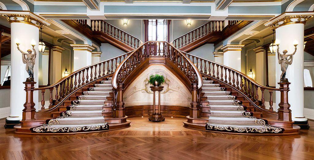 Aux intérieurs luxueux totalement restaurés