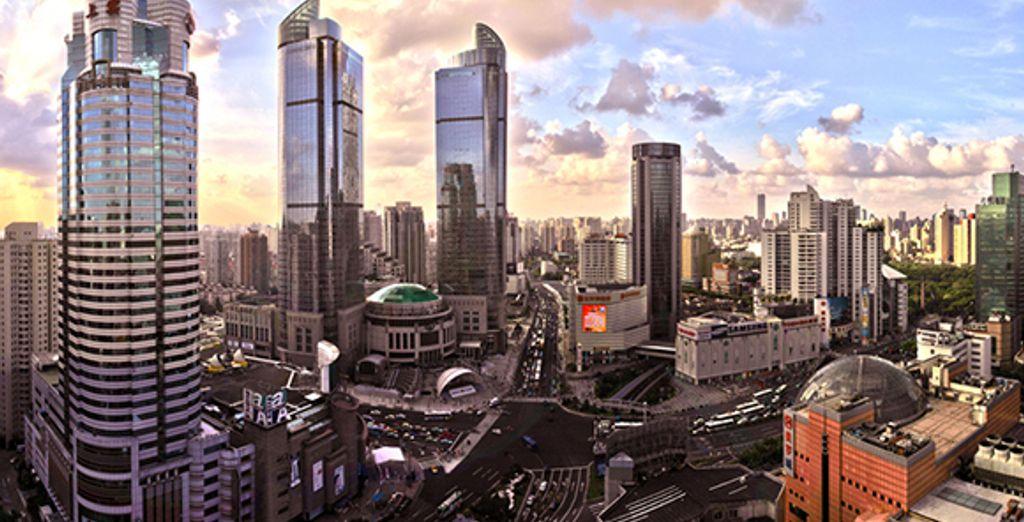 Le centre effervescent de Shangai