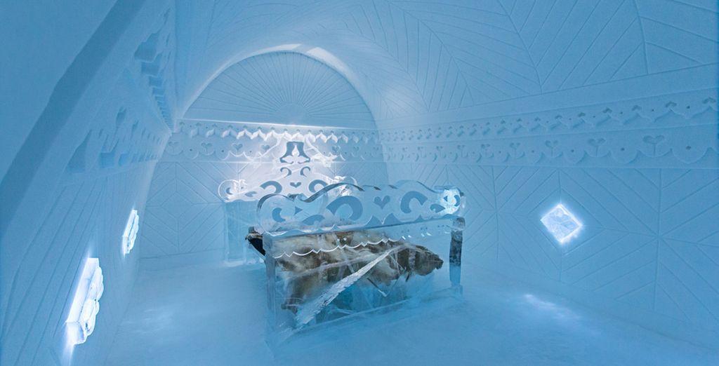 Entrez dans le Royaume des Glaces - Combiné Campement & Ice Hotel Jukkasjärvi
