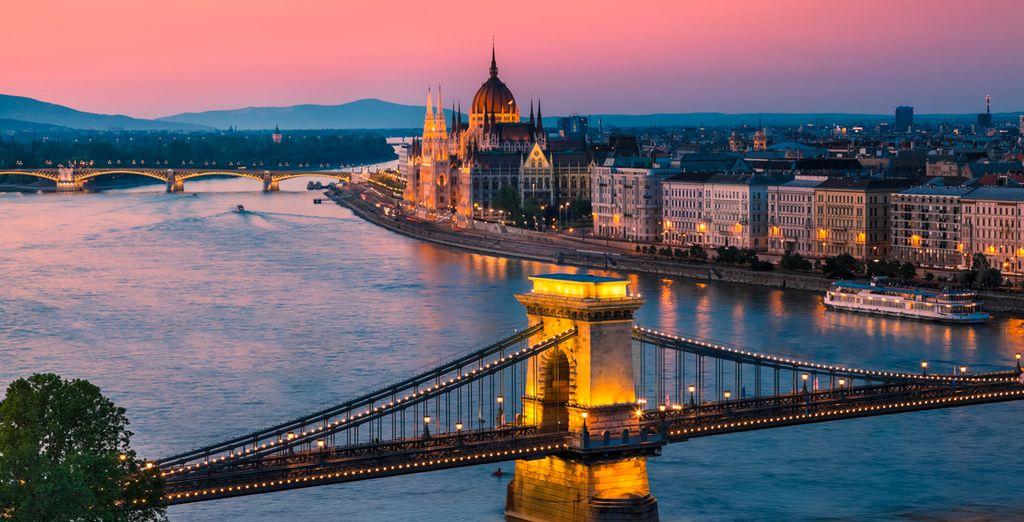 La suite de votre séjour se déroulera à Budapest