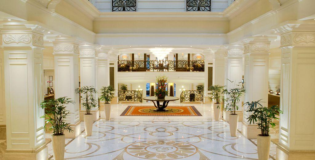 Hôtel haut de gamme cinq étoiles à Budapest, tout confort