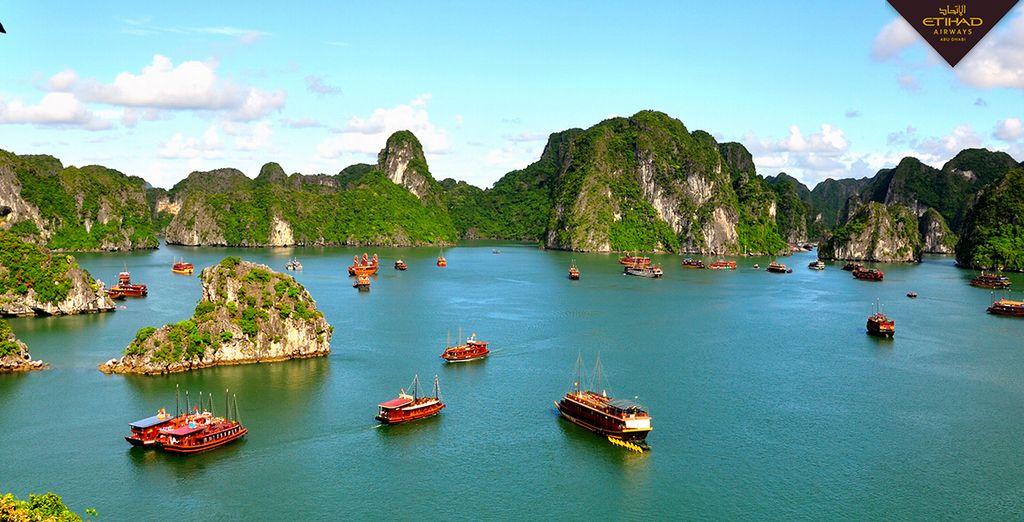 Partez à la découverte de paysages enchanteurs... - Circuit: La Vie des Vietnamiens 13jours/12nuits en hôtels 4* et 5* en classe Affaires avec Etihad Airways Ho Chi Minh