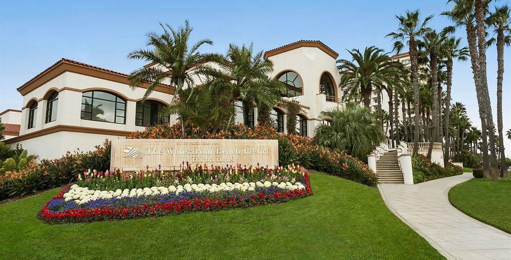 Vous serez installé au Hilton Huntington Beach