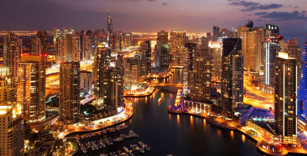 Si vous choisissez notre offre avec 3 nuits à Dubai