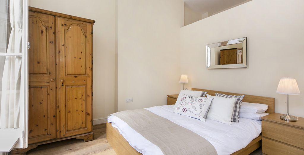 Appartement 1 : La première chambre