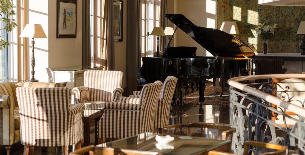 Que vous pourrez savourer tranquillement avec en fond sonore la douce mélodie d'un piano