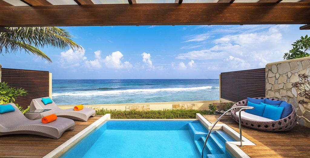 Ou en Ocean Pool Villa...
