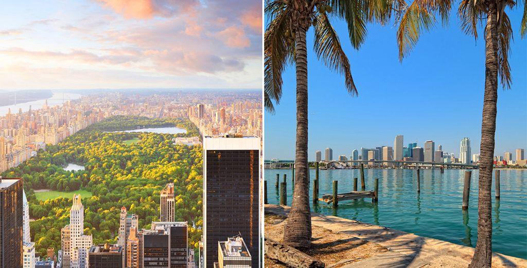 Visitez New-York et Miami grâce aux offres exclusives de Voyage Privé