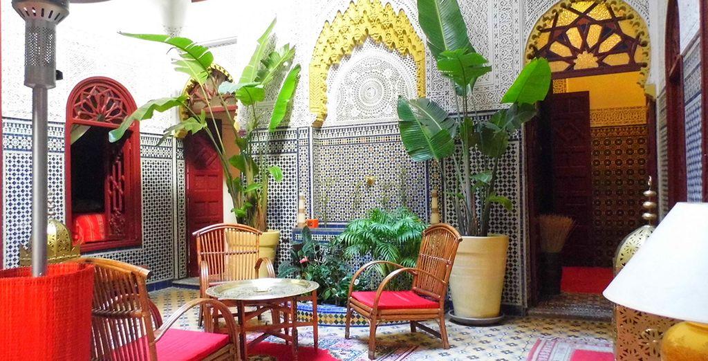 A l'architecture typique du Maroc