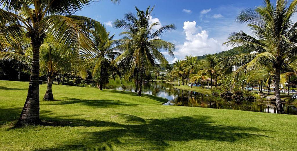 A moins que vous ne préfériez ses jardins luxuriants ?