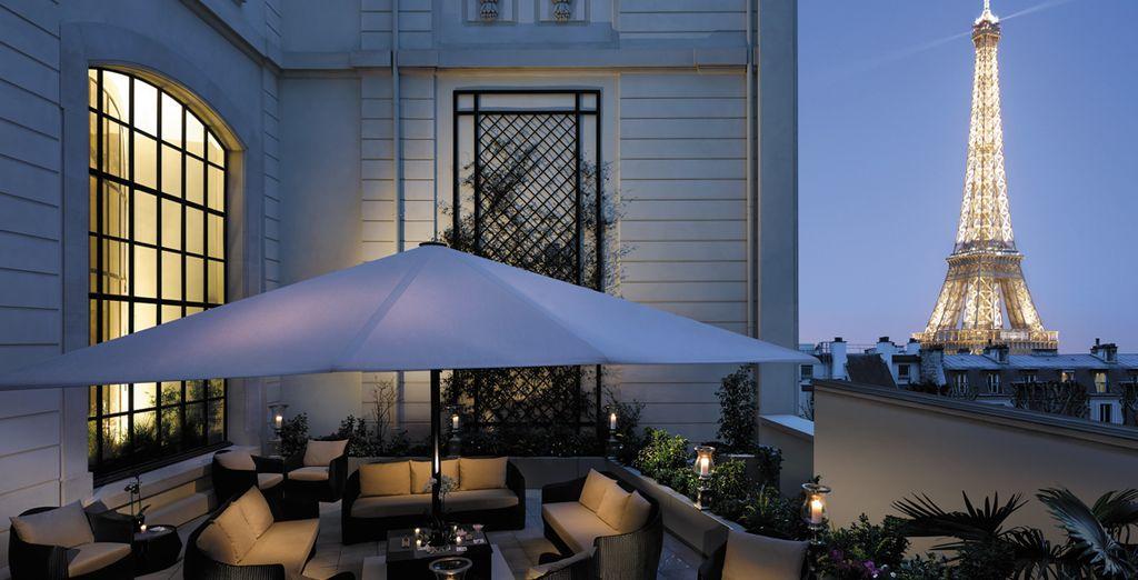 Palace Shangri-La, Hotel Paris