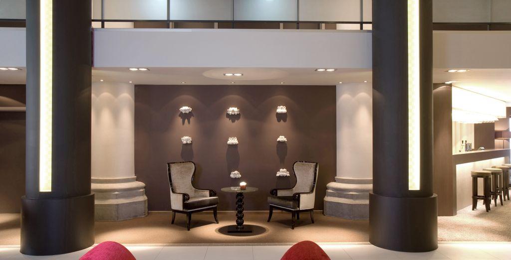 Où la décoration moderne a su conserver le charme du bâtiment