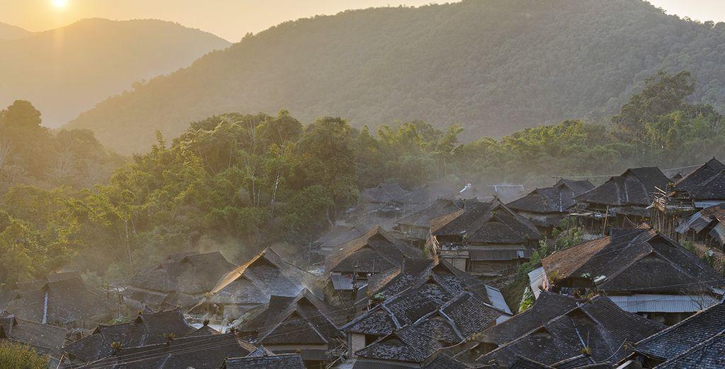 Et à la rencontre de villages authentiques