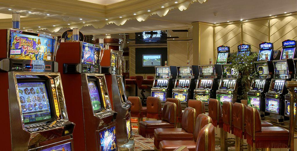 Faites un saut au casino...