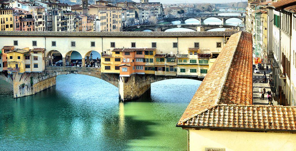 Le fameux Ponte Vecchio!