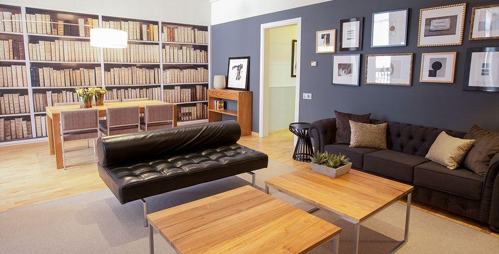 Dans des appartements 4* confortables et luxueux