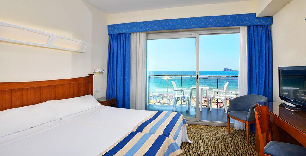 Vous y séjournerez en chambre Frontal Seaview