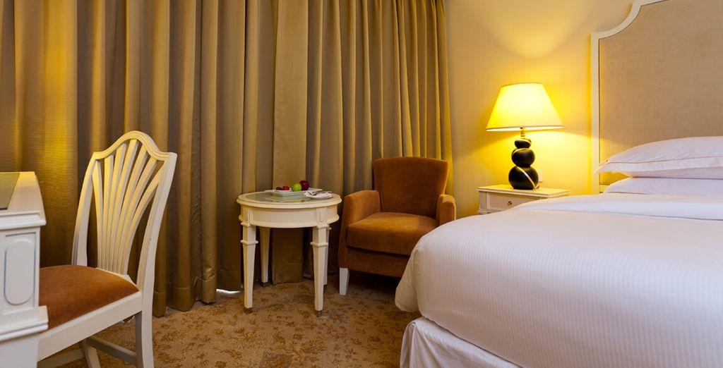 En hôtels 4* ou 5* confortables