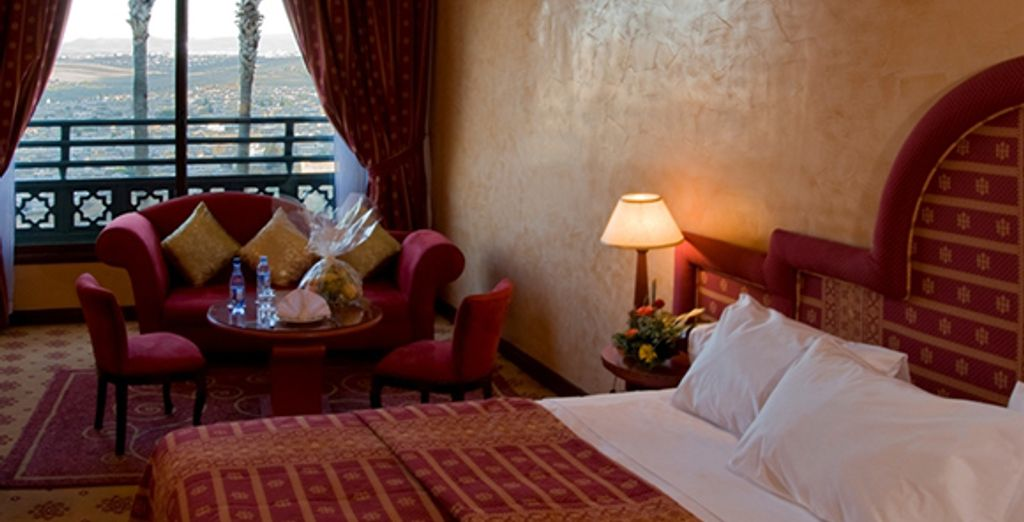 Un exemple de chambre - Hôtel Les Mérinides ***** Fez