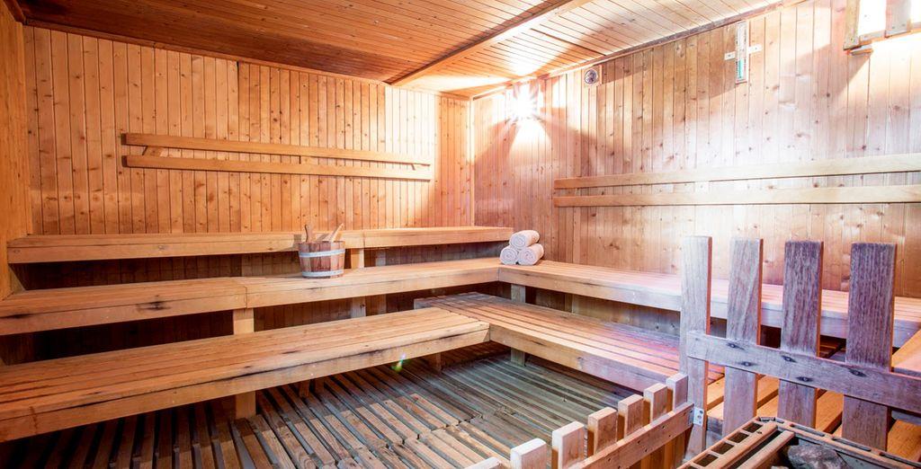 Relaxez vous au sauna...