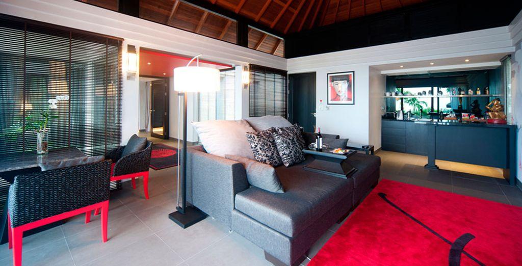 Vous pouvez aussi vous laisser tenter par la Villa Tropicale avec Piscine