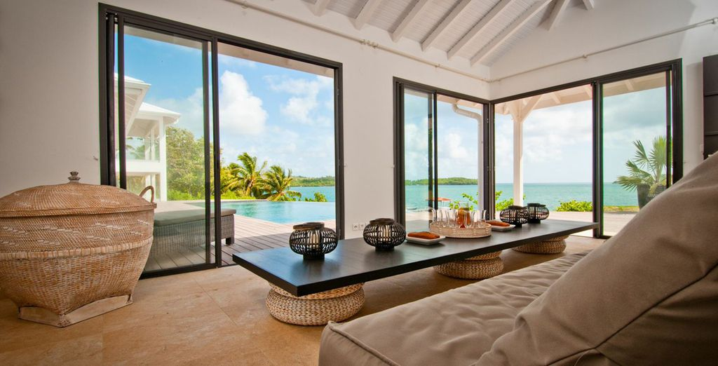 Lumineuse et ouverte sur l'océan... - Villa Ocean's House Le François