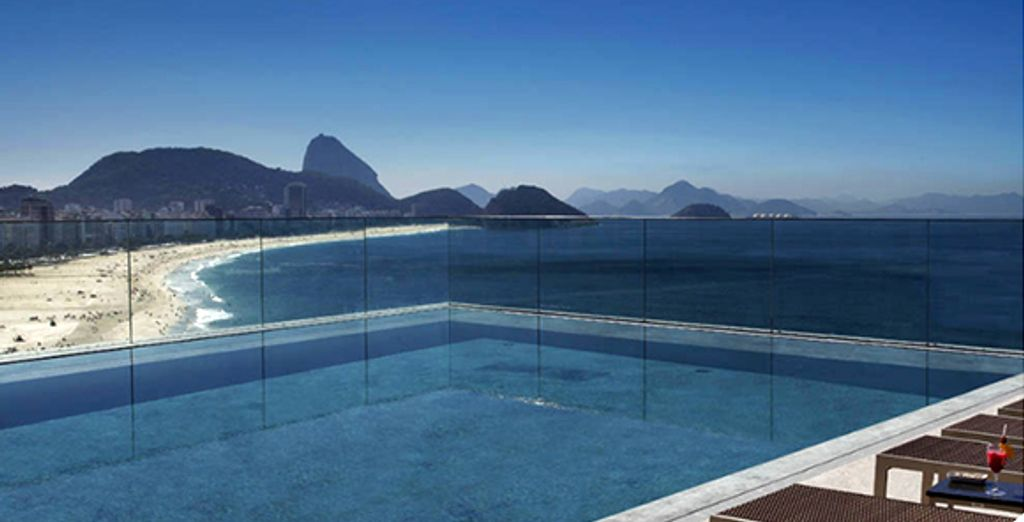 Surplombant la mer  - Miramar Hotel by Windsor ***** Rio de Janeiro