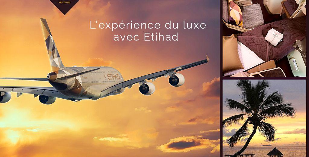 Réservez vite votre départ avec Etihad Airways!