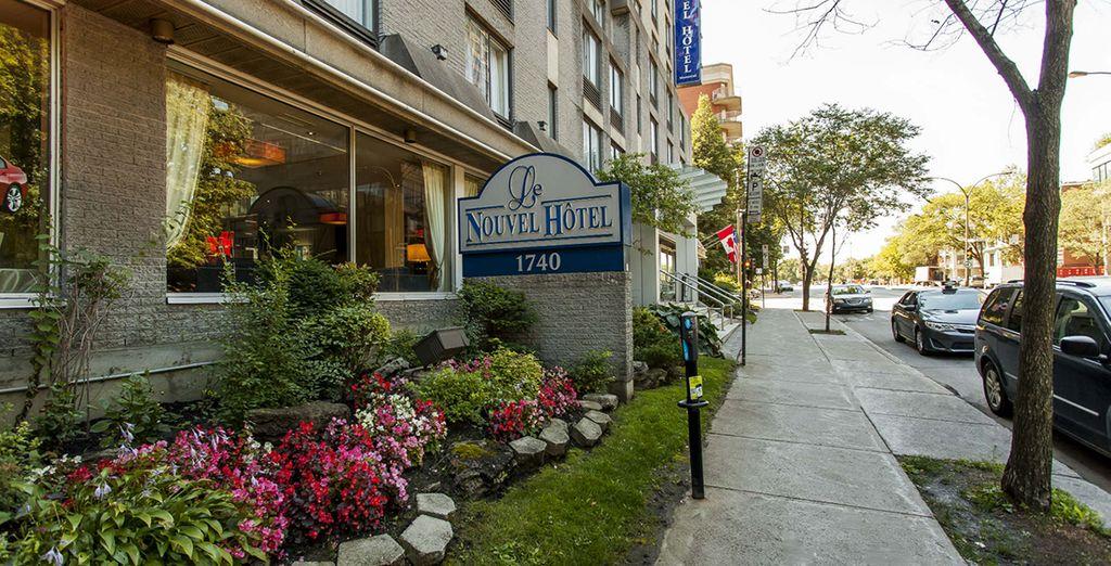 Le Nouvel Hôtel 4*