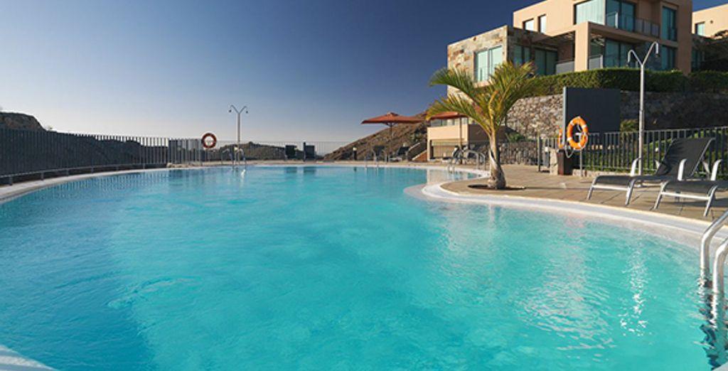 Certaines villas ont une piscine privée