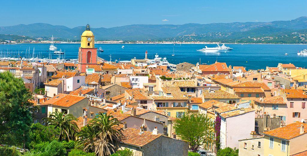 Pour découvrir la Côte d'Azur...