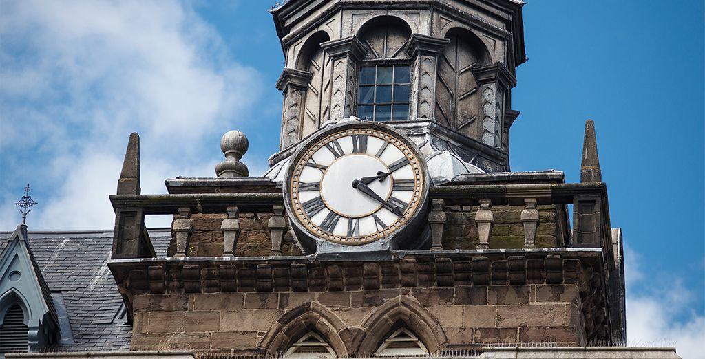 Troisième ville d'Ecosse, caractérisée par son architecture historique