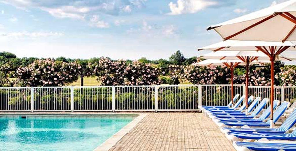 La piscine - Château des Vigiers Golf & Country Club **** Monestier