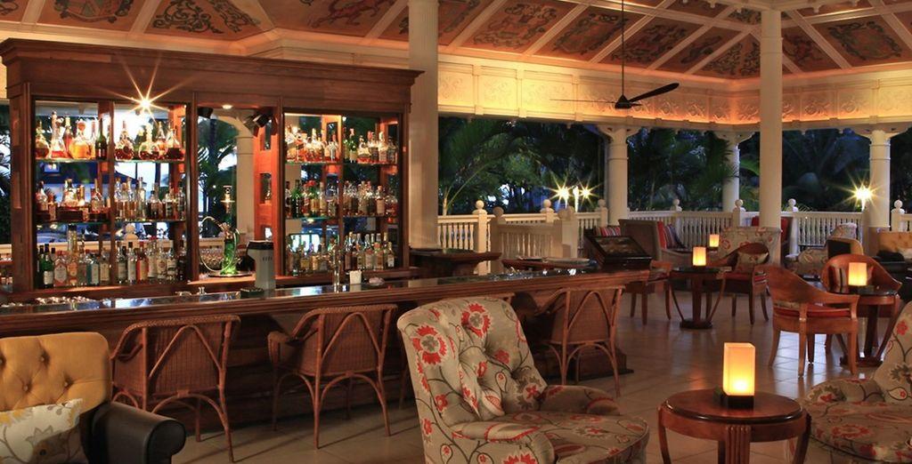A savourer dans l'un des nombreux restaurants et bars du site