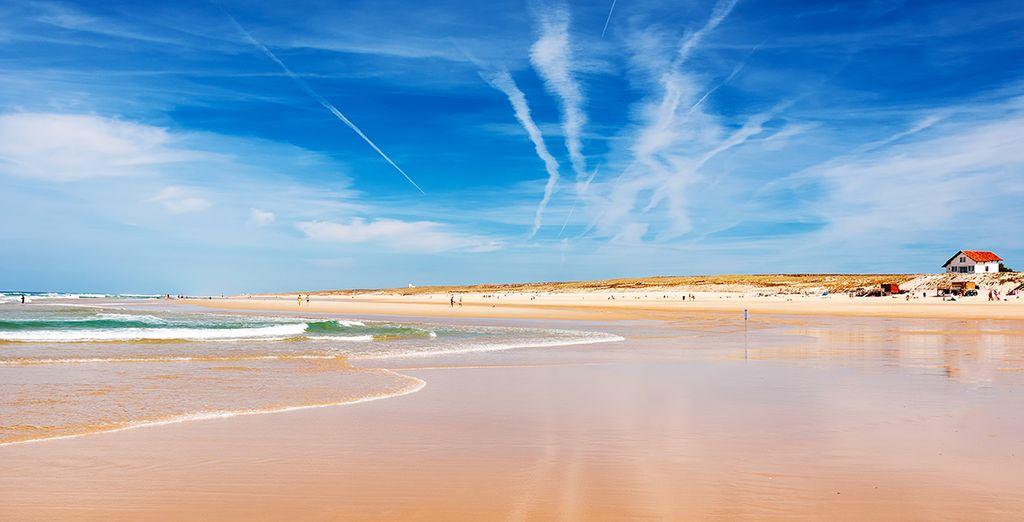 Puis direction les immenses plages de la côte où vous pourrez pratiquer de nombreuses activités nautiques.
