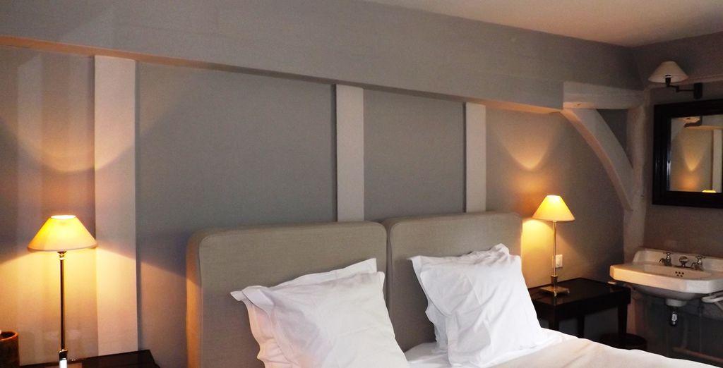 Et enfin, l'appartement Les fosses Gloriettes compte plus de 40 m² rien que pour vous