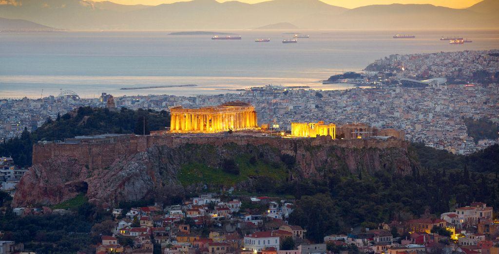 Une situation au coeur de la capitale grecque...