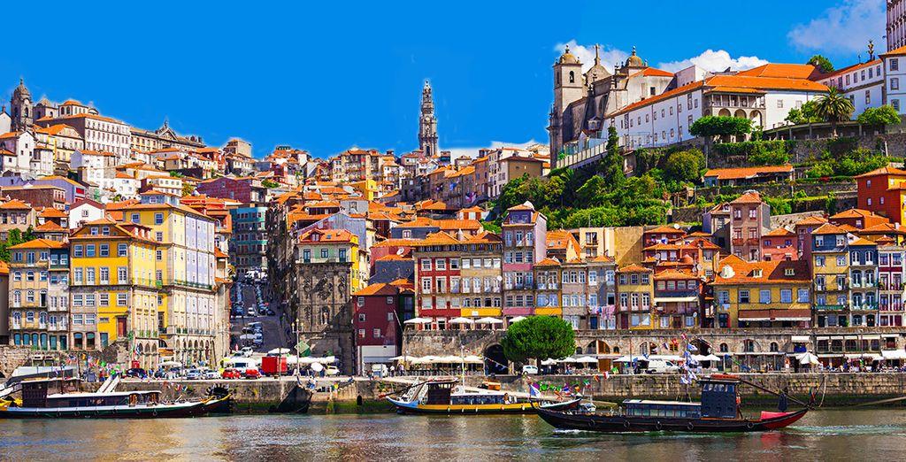 A environ 1h-1h30 de la très belle ville de Porto