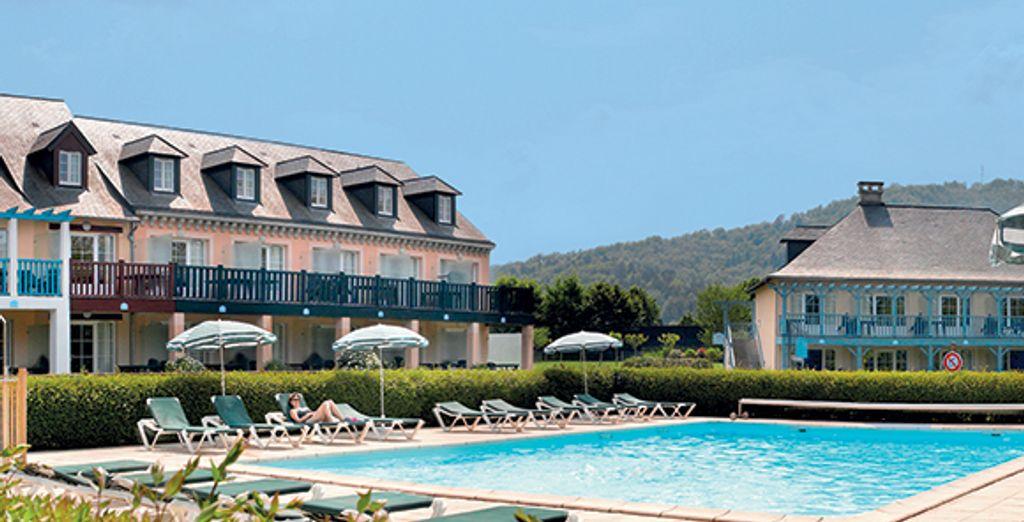 Bienvenue dans une résidence de charme - Résidence Pierre & Vacances Les Belles Rives Argentat