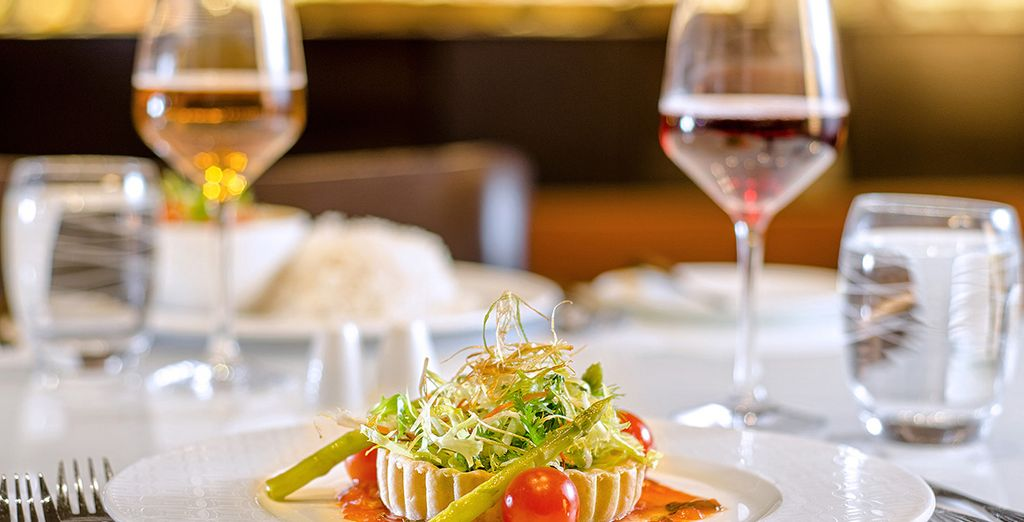 Service à l'assiette et menus Signature