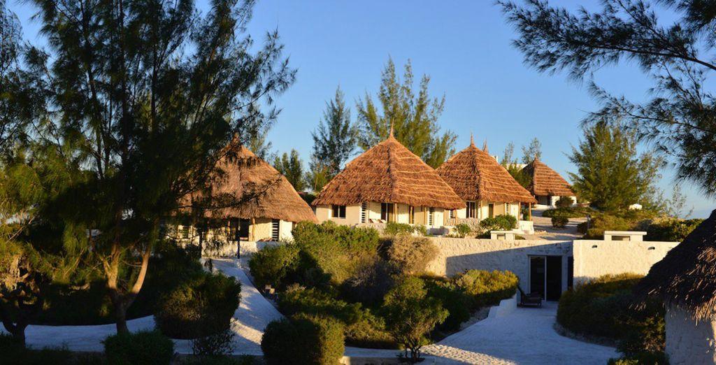 Hébergement tout confort au cœur d'un bungalow équipé du Salary Bay