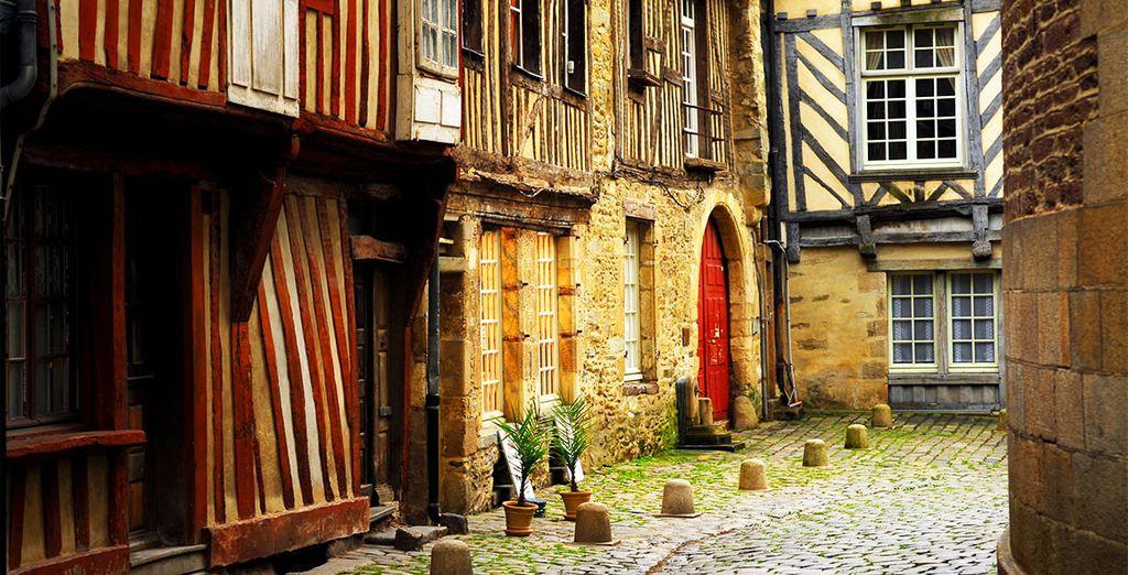 Et visites du centre ville de Rennes, à 10 minutes de l'hôtel...