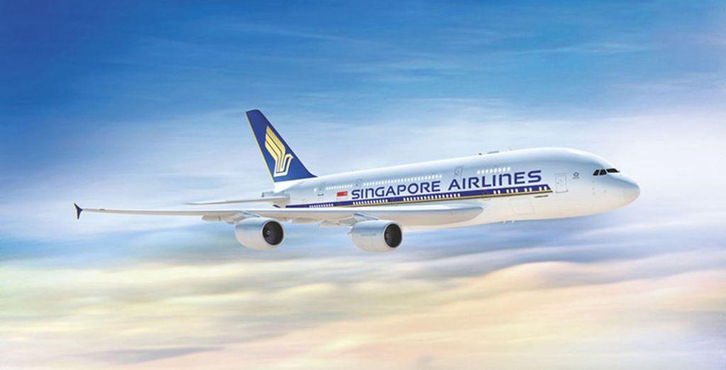 Vous en voulez encore plus ? Offrez-vous la classe affaires avec Singapore Airlines et volez en A380 entre Paris et Singapour