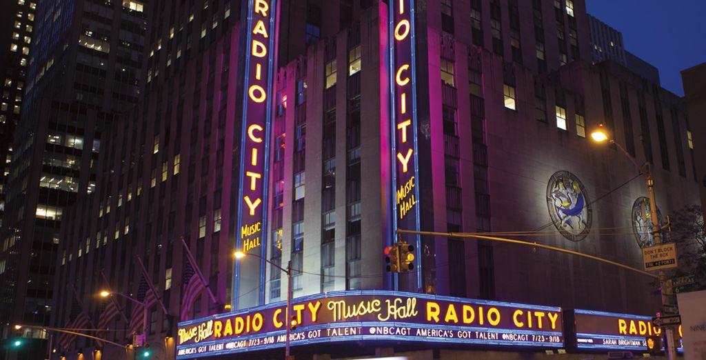 Profitez des divertissements qu'offre cette ville incroyable...