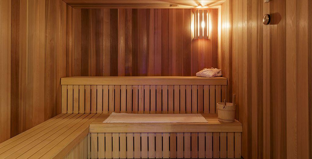 Ou de sauna...