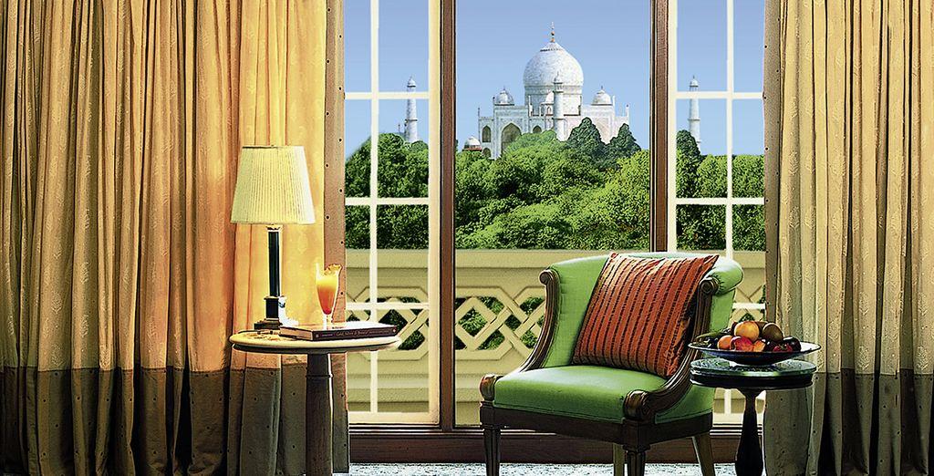 Un lieu charmant, à l'architecture maure et mughal...